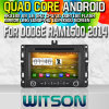 Witson S160 Car DVD GPS Player with for Dodge RAM1500 2014 Rk3188 Quad Core HD 1024X600 Screen 16GB Flash 1080P WiFi 3G Front DVR DVB-T Mirror-Link Pip(W2-M286)
