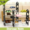 Waterproof Dustproof Corner Custom Made Shoe Display Rack