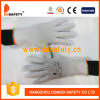 Ddsafety 2017 13 Gauge Nylon Polyester Seamless White PVC Dots Work Glove