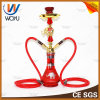 Glass Water Pipe Zinc Alloy Hookah Set Shisha Pipe
