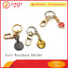Factory Supply OEM Custom Brand Logo Metal Coin Holder Keychain