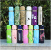 Colorful Stainless Steel Vacuum Flask with Heat Transfer Printing