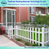 Ornamental White Powder Coated Galvanized Steel Wrought Iron Fence