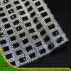 New Design Heat Transfer Adhesive Crystal Resin Rhinestone Mesh (HS17-09)