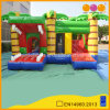 Popular Inflatable Crocodile Combo Fun City with Jump (AQ1324-10)