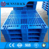 4-Way Entry Durable Single Side Mesh Surface Plastic Pallet for Pallet Racking