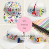 Suitable for Children, DIY Drawing Cap, Secret Garden Cap