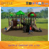 12mm Galvanized Post Colourful Children Outdoor Playground Equipment PVC Coated