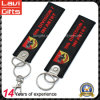Personalized Cheap Embroidery Keychain with Printing Logo