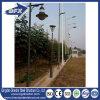 Hot-DIP Galvanized Octagonal Single/Double Arm Solar Street Light Pole