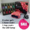 Ibn Gel Nail Polish Starter Kit with LED Lamp