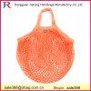 Brand Logo Label Design 100% Cotton Net Fruit Bag