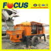 Portable 90kw Electric Motortruck-Mounted Concrete Delivery Pump with Slide Valve