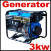 3kw Generator Powed by Air Cooled Diesel Engine