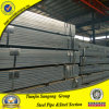 50*50mm Pre-Galvanized Square Steel Pipe with Zinc Coating 40G/M2