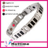 Magnetic Stainless Steel Charm Bracelet