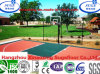 with Non-Fade Outdoor Basketball PP Sports Flooring