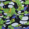 600d High Density PVC/PU Woodpecker Polyester Printed Fabric