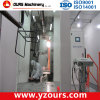 PP Plate Made Powder Coating Booth with Large Cyclone (Mono-cyclone)
