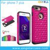 PC+Silicone Hybrid Diamond Phone Case for iPhone 7 Plus