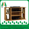 Modern Simple Foldable MDF Melmine Corner TV Stand Design
