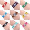 Imitation Jewelry -Frozen Woven PU and Wax Bracelet Anna/Elsa Logo