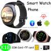 Round Screen Bluetooth Smart Watch Phone (K18)