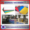 Low Powder Consumption PVC Advertisement Sheet Extruding Machine