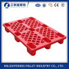 Heavy Duty 4 Ways Single Face 9 Legs Plastic Pallet
