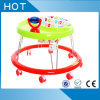 Plastic Simple Round Baby Walker with Silicone Wheel