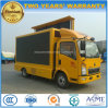 HOWO 6 Wheels Outdoor Mobile LED Display Truck 5 T Advertising Vehicle
