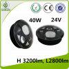 5.75 Inch 40W LED Headlight with Angle Eye