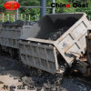Single-Side Curved Rail Dumping Mine Ore Carts
