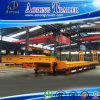 2-4 Axles 50-80t Low Flatbed Semi Trailer Truck Trailer (LAT9322TDP)