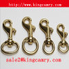Dog Hook Trigger Swivel Hook Metal Spring Hook Snap Hook Solid Brass Bolt Snap Hook for Bag Handbag Luggage Key