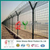 Y Shape Razor Barbed Security Airport Fence / Weld Wire Fence