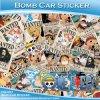 HD-97 Different Cute Cartoon Pattern Car Body Vinyl Wrap
