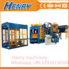 Qt10-15 Automatic Hydraulic Pressure Cement Brick Making Machine Curbstone Block Machine