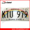 USA Aluminum Car License Plate