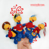 Plush Duck Finger Puppet Toy