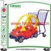 Supermarket Plastic Mini Shopping Center Baby Stroller Cart