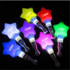Imprint Logo Star Shape LED Glow Concert Wand