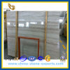 High Polished Athens Wood White Marble Slab (YQZ-MS1008)