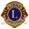 Lions International Embroidered Patch