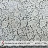 Jacquard Ivory French Lace Fabric (M2157-MG)