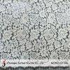 Jacquard Ivory French Lace Fabric (M2157-MG)