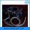 Braided Leather Pet Dog Collar Leash Factory Wholesale (HP-101)