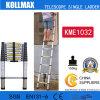 Magic Aluminum Telescopic Single Ladder with En131 CE GS Kme1032