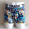 Fashion Design Sublimation Printed Nylon Men Boxer Shorts