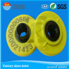 Number Printed and Barcode Printed RFID Ear Tag for Animal Management